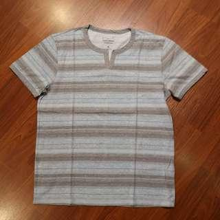 Lucky Brand Shirt Henleys size M