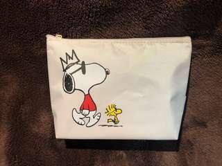 Peanuts Snoopy pouch 史路比 拉鍊 化妝袋 收納小袋 包平郵寄出