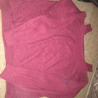 Sweater ala sabrina