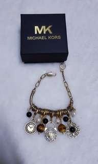 Michael kors charms bracelet
