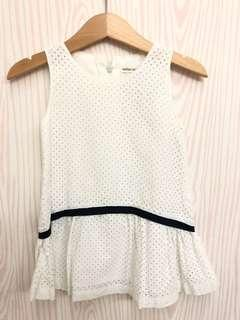 White dress cotton
