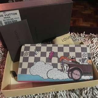 LV Azur Illustre Evasion Zippy Wallet Hibiscus (Ltd.Ed.)