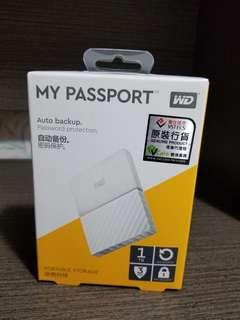 WD MY PASSPORT hard disk 1TB