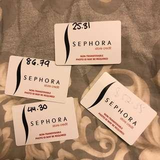 Sephora Store Credit Cards