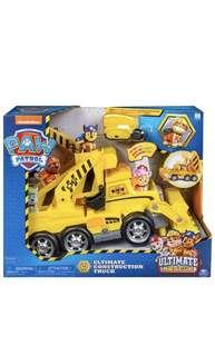 🚚 Paw Patrol Ultimate Rescue Construction truck with lights, sounds