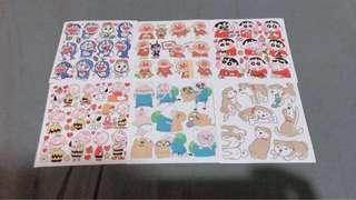 🚚 Korean sticker sheets!