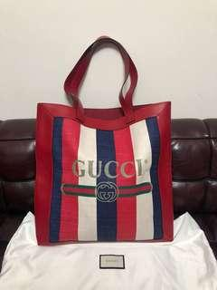 2018FW GUCCI tote bag used 98%new