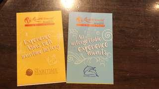 2 x Adventure Cove Tickets (Adults) on 23/3