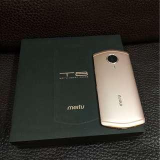 美圖 MEITU T8 4G/128G 5.2吋十核心4G-LTE前置雙像素鏡頭自拍美顏美照機