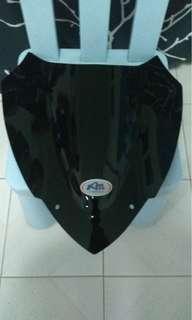 Xmax 300 Sport Windshield dark smoke