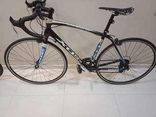 Branded road bike