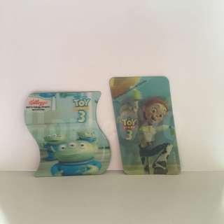 [包平郵] Disney Pixar Toy Story Magnet 3D 磁石 2件