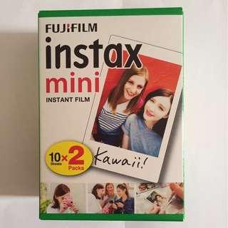 🚚 Fujifilm mini instax film 20-pieces box (plain)