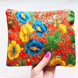 🚚 The Everyday Batik Pouch Handmade in Singapore