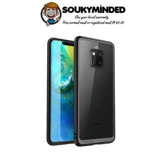 [IN-STOCK] Huawei Mate 20 Pro Case, SUPCASE Unicorn Beetle Style Series Clear Protective TPU Bumper PC Premium Hybrid Case for Huawei Mate 20 Pro/LYA-L29 2018 Release -Retail Package (Black)