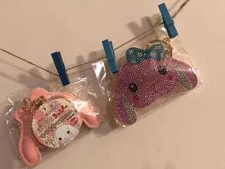 Amuse 賓尼兔閃石鎖匙扣