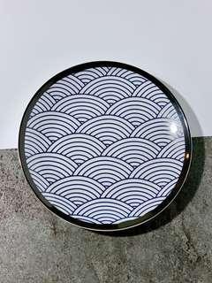 日式波浪盤