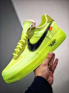 eed652296 Nike Air Force 1 Low Off-White Volt