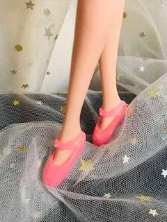 👠(娃娃用) 2019 春夏新款6分娃 甜美粉紅 芭蕾舞鞋 跳舞鞋👠娃娃飾物 BLYTH PRETTY PINK BALLET SHOES SANDLE BIRTHDAY EASTER CHILDREN KID DAY GIFT 小布 娃衣公仔衫 生日兒童節復活節禮物 拍攝道具 (鞋一對,不連娃)