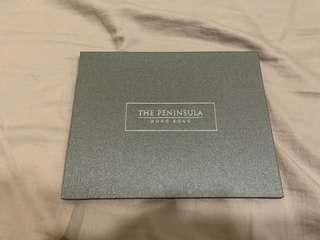 半島酒店 The Peninsula $2500港幣 禮物卡 Gift Card 100%全新未用