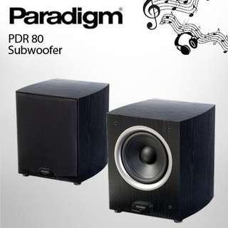 Paradigm pdr80