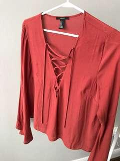 Forever 21 Long Sleeve with Flare