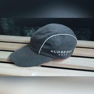 AUTH BURBERRY GOLD DADHAT