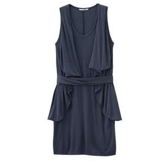 UNIQLO D.I. Ruffle Sleeveless Dress