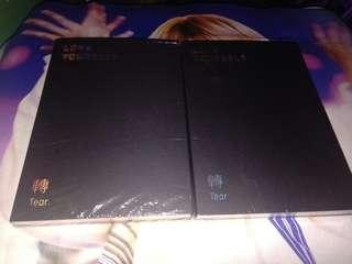 Wts bts tear album, U & Y versions