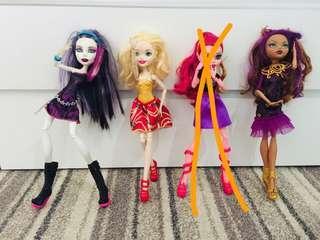 Monster High Doll 350php each