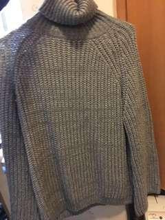 灰色毛衣 Grey sweater