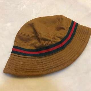 韓國帶回🇰🇷Gucci配色 芥末黃 漁夫帽 韓國製💛