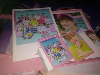 Wts wanna one album to be one pink version