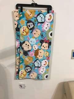🚚 Tsumtsum迪士尼藍色薄款大浴巾