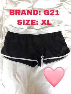 BLACK SWIM SHORTS BY G21