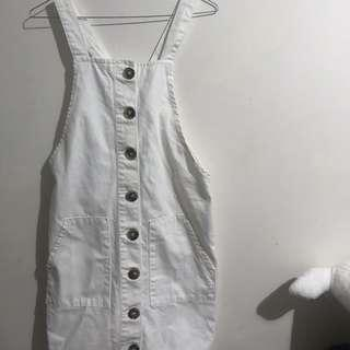 Missguided pinafore dress