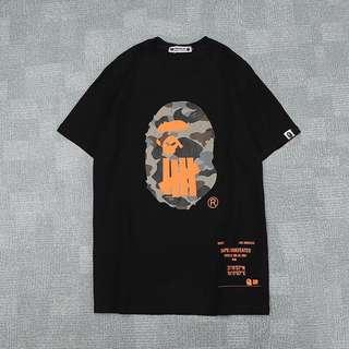 🚚 BAPE / UNDEFEATED by A Bathing Ape T Shirt