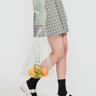 BNWT clear shopper bag