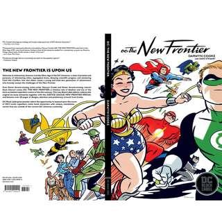 🚚 DC THE NEW FRONTIER TP NEW ED BLACK LABEL