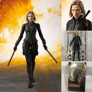 🚚 Avengers: Infinity War SHF Figuarts Black Widow