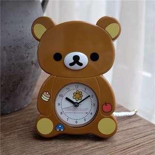 鬆弛熊鐘桌面鐘
