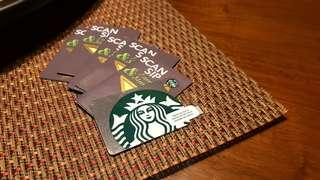 DISCOUNTED, Brand-New Starbucks Card pre-loaded with P1500 (Starbucks Logo design)