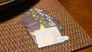 LIMITED EDITION: DISCOUNTED, Brand-New Starbucks Card pre-loaded with P1500 (Valentine's design)