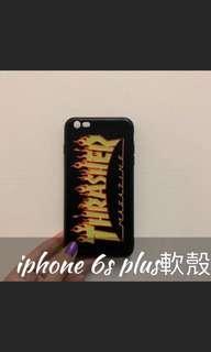 🚚 iphone 6s plus 火焰🔥個性手機殼 軟殼 #半價良品市集