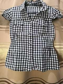 Checkered Blouse for Kids