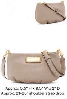 MJ Percy Leather Crossbody Bag