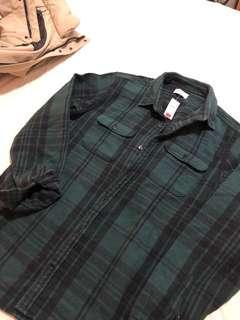 Gap brand new flannel shirt with tag