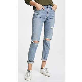 Agolde Jamie Ripped Jeans