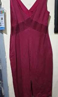 Preloved sleeveless v shape