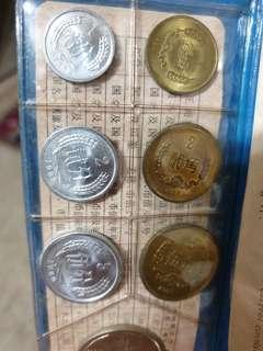 China coins 1980